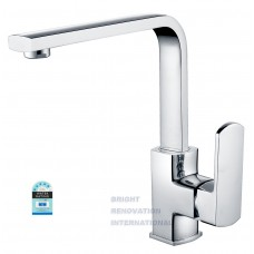 Designer MILAN Arch Swivel Kitchen Laundry Basin Sink Flick Mixer Tap
