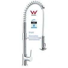 New WELS Cylinder Spring Bathroom Kitchen Sink Laundry Flick Mixer Tap Faucet