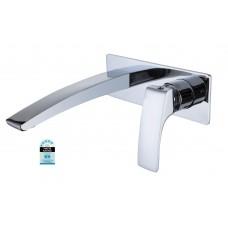 Designer TANCY Bathroom Bath/Vanity Basin Wall Flick Mixer with Spout Combo