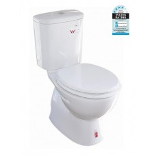 ZE001 Full Bathroom Ceramic Toilet Suite Soft Close Seat S/P Trap