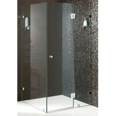 Bathroom Rectangular Frameless Shower Screen 10mm Toughen Glass Panels 950x1100